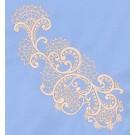 Freestanding Lace Neckline Sides