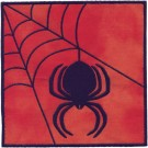 Black Widow Applique