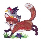 Woodpecker And Fox