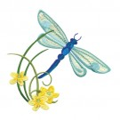 Dragonfly With Flowers 3