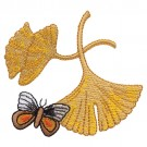 Leaves and Butterfly