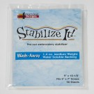 LARGE 1 4oz Med  Wt  Water Soluble Backing