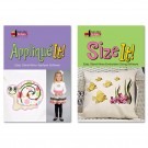 Applique It And Size It Combo CD