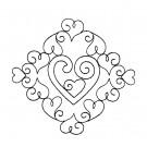 Flowering Eyelet Circle 1 Embroidery Design