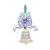 Bell and Bow Merry Belles Embroidery Design