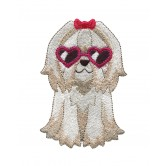 Cool Dog Cool Cats and Dogs Embroidery Design