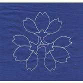 Flowers Savvy Sashiko Embroidery Design