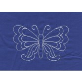 Butterfly Savvy Sashiko Embroidery Design