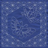 Butterfly Quilt Savvy Sashiko Embroidery Design
