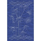 Bamboo Pattern Savvy Sashiko Embroidery Design