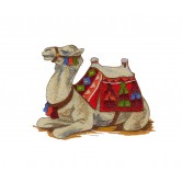 Sitting Camel The Nativity Story Embroidery Design