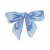 Bow Easter Flourishes Embroidery Design