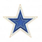3 Inch Echo Quilt Star