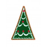 Gingerbread Christmas Tree 1 Embroidery Design