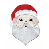 Holiday Faces Applique Embroidery Designs