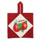 Apples Pot Holder Embroidery Design