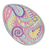 Freestanding Lace Egg Embroidery Design 2