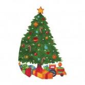 Christmas Tree 3 Design Split