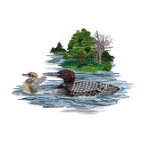 Call of the Loons Embroidery Design Collection