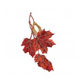 Alluring Leaves of Autumn Sewing With NancyEmbroidery Design Collection