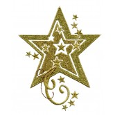Shimmering Stars Embroidery Designs