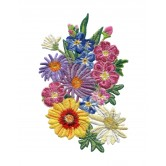 Flowery Crewel Embroidery Designs