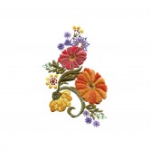 Artful Autumn Crewel Embroidery Designs