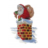 Believe in Santa Embroidery Designs