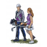 Game Day Golf Embroidery Designs