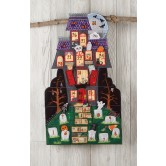 Halloween Countdown Mansion Embroidery Designs
