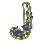 Blooming Applique Alphabet Amazing Designs