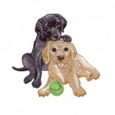 Lovable Labradors Pups by Sewing With Nancy