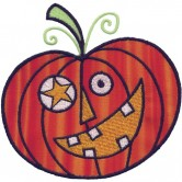 Applique Jack O Lantern 2