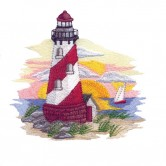 Scenic Lighthouses by Sewing With Nancy