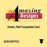 Amazing Designs ART PCS Rewritable Card