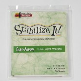LARGE 1oz Light Wt Tear-Away