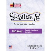 Stabilize It! Fusible Applique Stabilizer