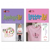 Letter It And Applique It Combo
