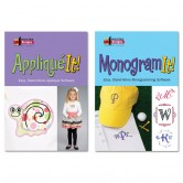 Applique It And Monogram It Combo
