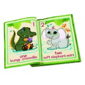 In-The-Hoop Counting Critters Quiet Book Collection