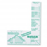 Embroidery Placement Ruler