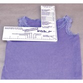 Embroidery Placement Ruler Jr